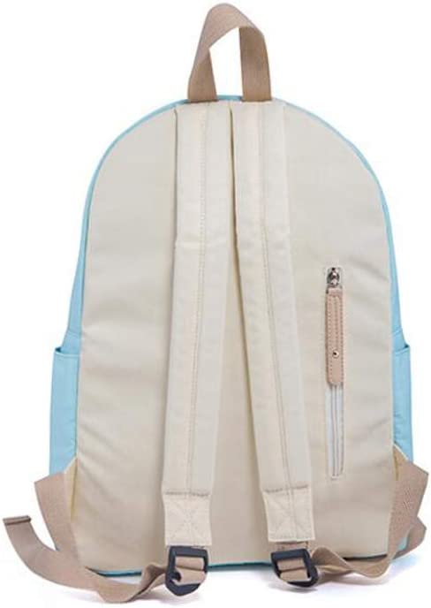 Color : A, Size : 281235cm HLJ Casual Student Bag Fashion Personality Travel Backpack Simple Multi-Function Backpack