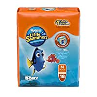Huggies Little Swimmers Disposable Swim Pants, Size Medium, 18 Count (Pack of 4)