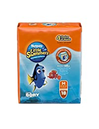 Huggies Little Swimmers Disposable Swim Pants, Size Medium, 18 Count (Pack of 4) BOBEBE Online Baby Store From New York to Miami and Los Angeles