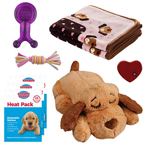 - Snuggle Puppy - New Puppy Starter Kit (Pink)