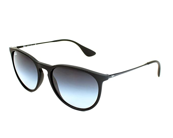 Ray-Ban Gafas De Sol Polarizadas Para Mujer Erika - 54Mm Rubber Negro-Light Gris (Default, Negro)