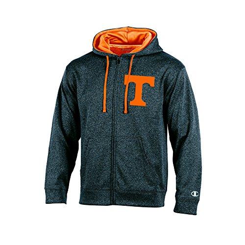 NCAA Tennessee Volunteers Adult Men Full Zip Hood with Contra, XX-Large, - Volunteers Jacket Tennessee