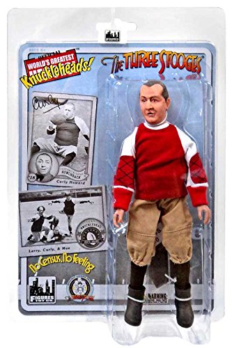 """The Three Stooges No Census, No Feeling Curly 8"""" Action Figure"""