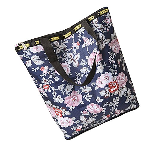 Casual Women Crossbody Fashion Robemon H Floral Shopping Handbag Shoulder Messenger Printed Beach Satchel Bag cnw8fxS