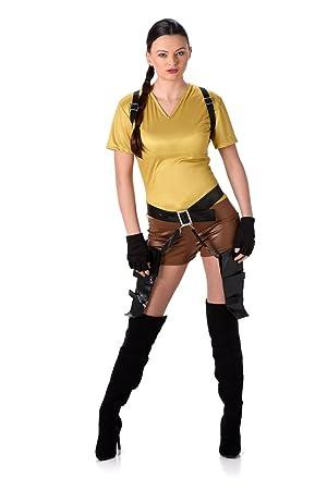 Karnival Costumes Lara Croft Tomb Raider Kostüm Für Damen Größe L