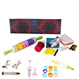 Cookiepro Festive Edition - 231pcs Cookie Biscuit Cutter + Stamp Set With 6pcs Xmas Stampers + decorating icing pen + Rolling pin + Alphabet& Number Stamps + Icing Piping Syringe With Nozzles and more