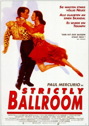 Strictly Ballroom 11 x 17 Movie Poster - German Style A
