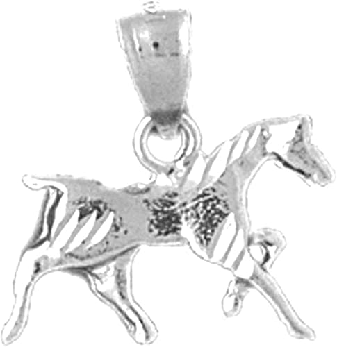 Jewels Obsession Silver Deer Pendant 14K Yellow Gold-plated 925 Silver Deer Pendant
