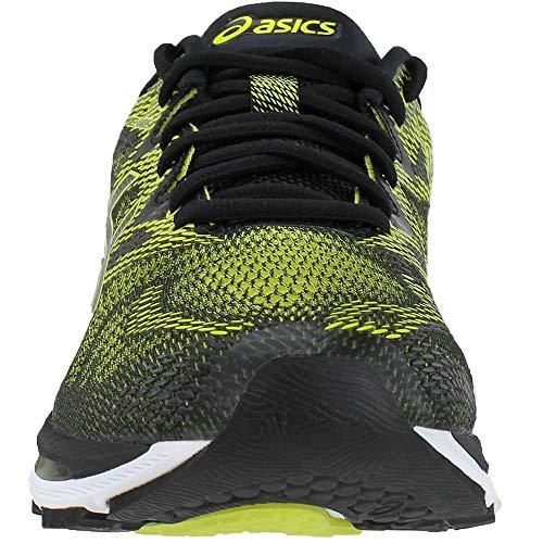 ASICS Men's Gel-Nimbus 20 Running Shoe, Sulphur Spring/Black/White, 6.5 Medium US by ASICS (Image #4)