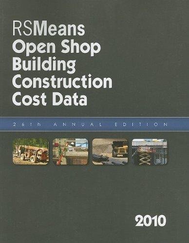 RSMeans Open Shop Building Construction Cost Data