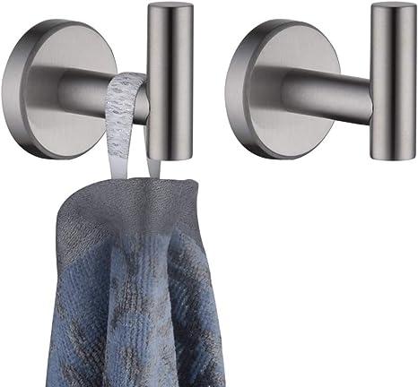 Wall /& Door Hooks Towel Robe Coat Hook