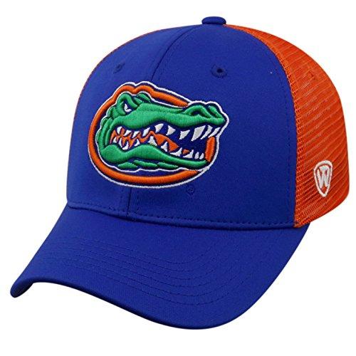 Top of the World NCAA-Ranger Trucker Mesh-Adjustable Snapback Hat Cap-Florida Gators