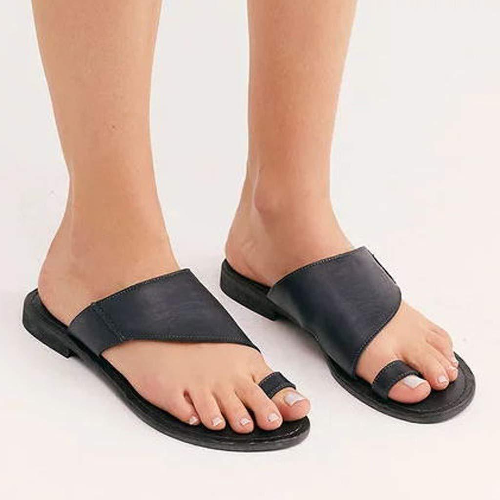 LILICAT✈✈ Sandalias con Punta Abierta para Mujer Chanclas Plataforma Sandalias de Mujer y Niña Verano Zapatos de Playa Zapatillas Sandalias y Zapatillas ...