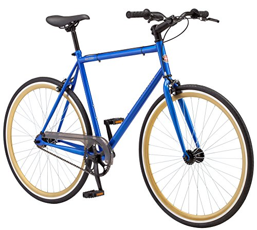 Schwinn Single - Schwinn Kedzie 700c Fixie Bicycle, Blue