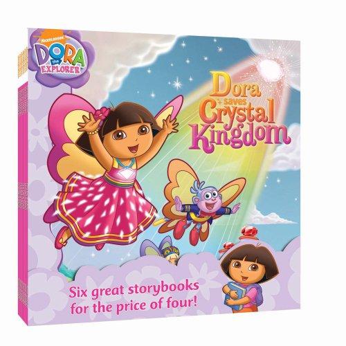 Nick 8x8 Value Pack #1: Dora Loves Boots; Dora Saves Crystal Kingdom; Show Me Your Smile!; Dora Saves the Snow Princess; Say 'Ahh!'; Super Babies (Dora the Explorer)
