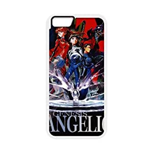 Special Design Cases iPhone 6 4.7 Inch Cell Phone Case White Neon Genesis Evangelion Wfwhj Durable Rubber Cover