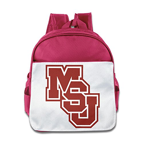 OOKOO Kids School Bag Mississippi University Bulldogs Backpack For -