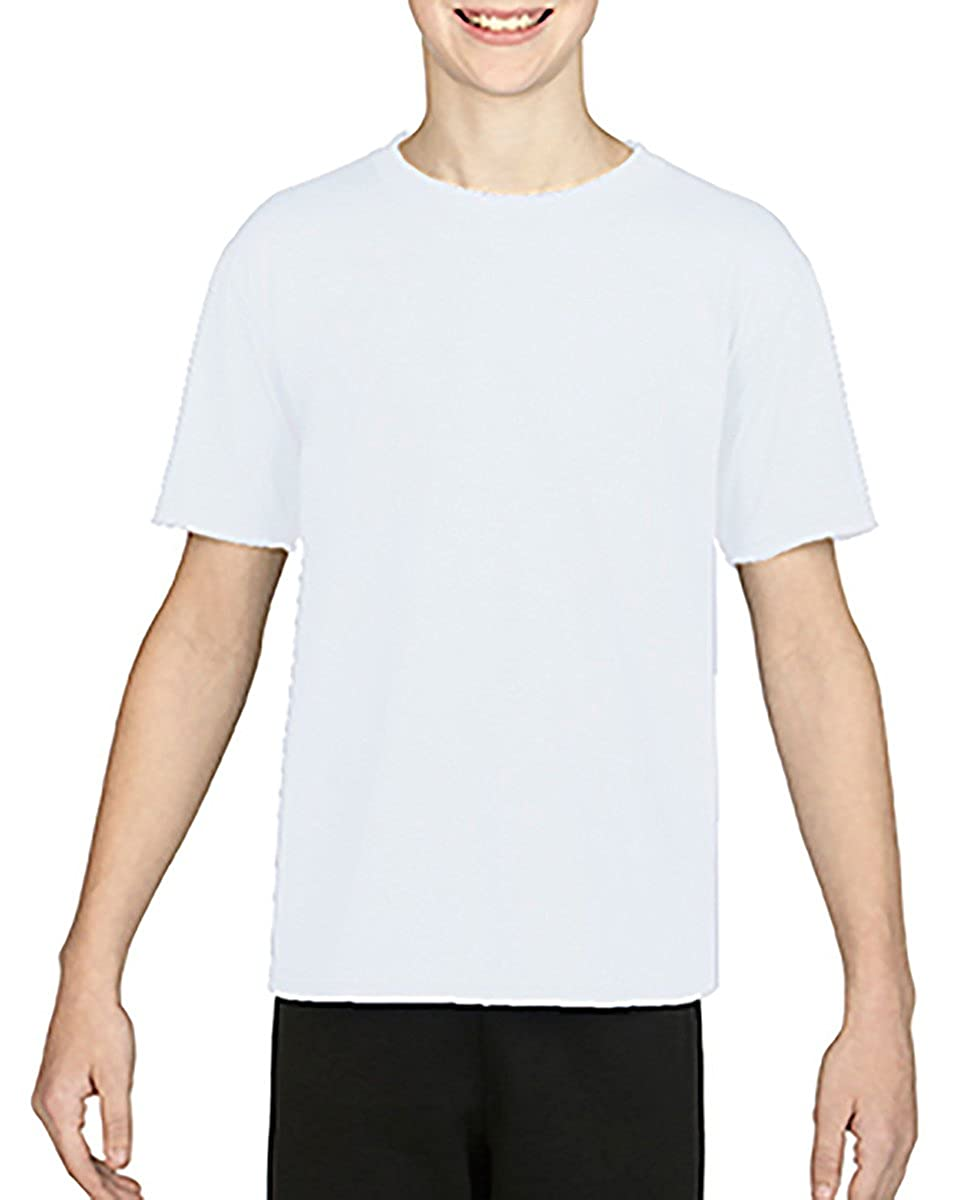 By Gildan Gildan Youth Performance 47 Oz Core T-Shirt Style # G460B - Original Label S - White