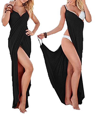 Yanekop Womens V Necklin Backless Bikini