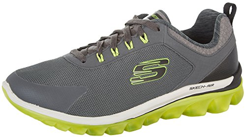 skechers-mens-sketch-air-20-quick-times-running-shoes-115-dm-us-charcoal-lime