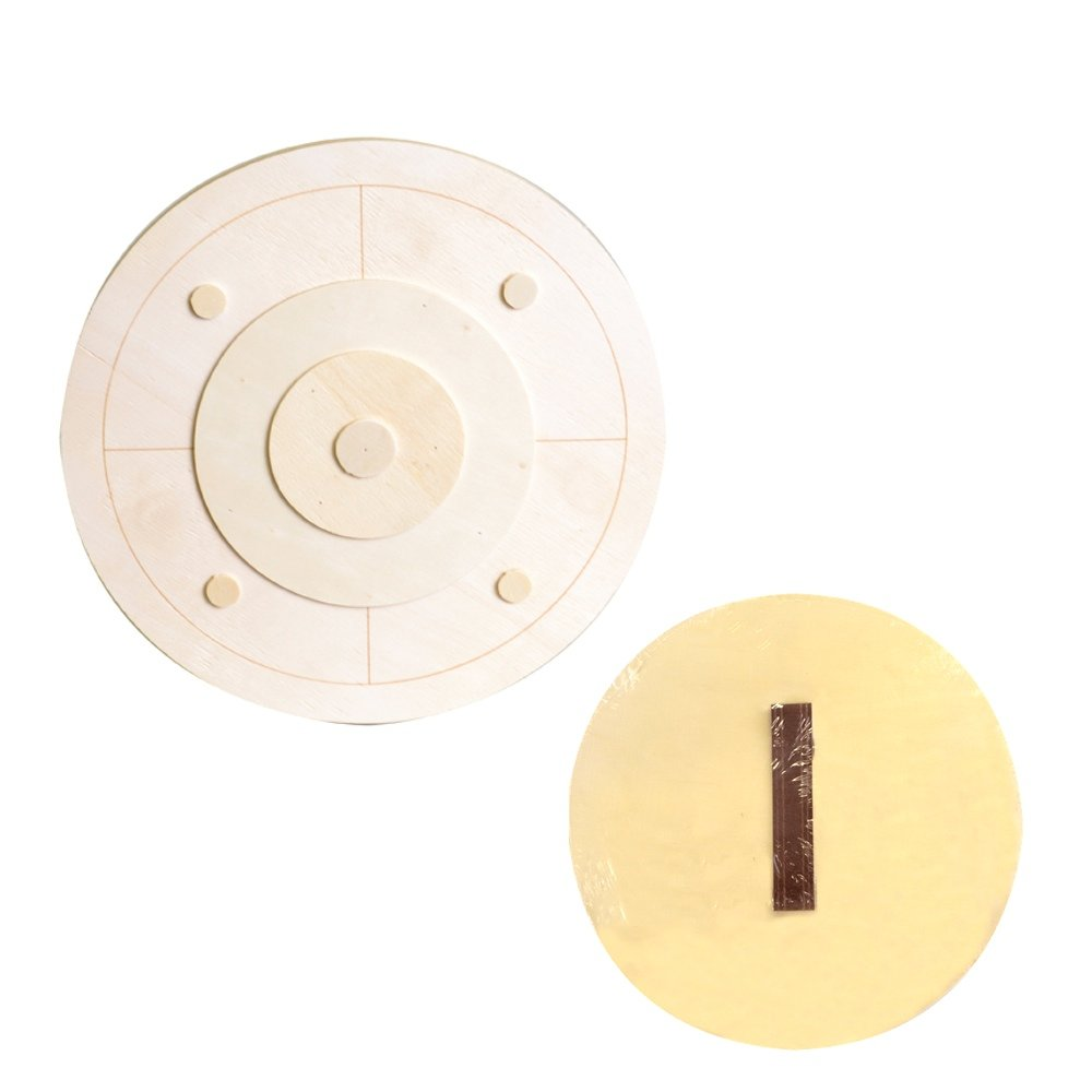Artemio 25 x 0.7 Wooden Shield Round, Beige 14001765