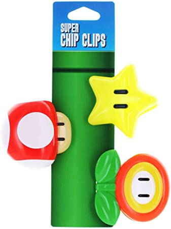 Mario Brothers Chip Clips