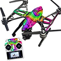 MightySkins Protective Vinyl Skin Decal for Yuneec Q500 & Q500+ Quadcopter Drone wrap cover sticker skins Hallucinate