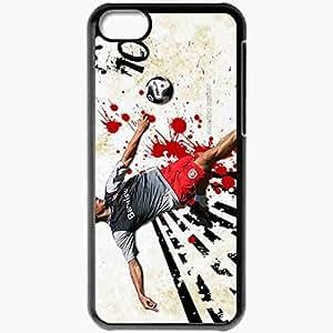 Personalized iPhone 5C Cell phone Case/Cover Skin Alex Internacional Internacional Football Black