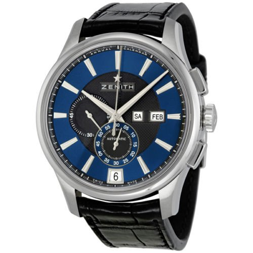 Reloj cronógrafo de Capitán para hombre Zenith Winsor 032070405422C708: Amazon.es: Relojes
