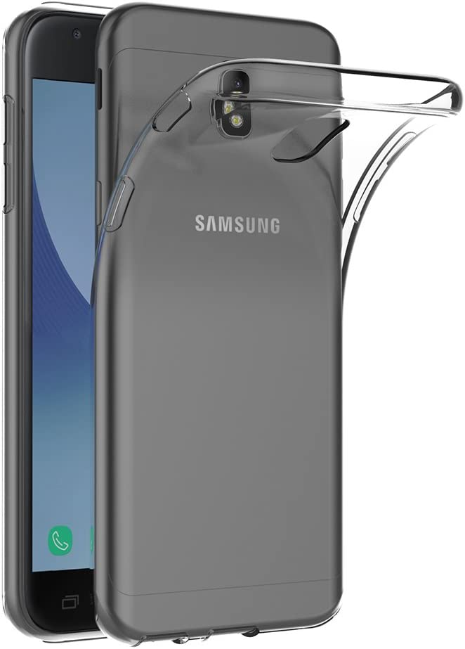 AICEK Funda Samsung Galaxy J3 2017, Transparente Silicona Fundas para Samsung Galaxy J3 2017 Carcasa Silicona Funda Case (5,0 Pulgadas SM-J330F)