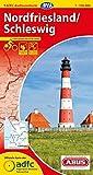 ADFC-Radtourenkarte 1 Nordfriesland /Schleswig 1:150.000, reiß- und wetterfest, GPS-Tracks Download (ADFC-Radtourenkarte 1:150000)