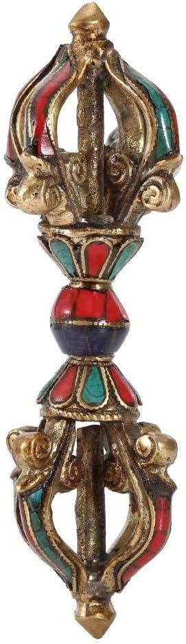 Phurba Pestle Vintage Five Strands Of Pestle Demon Pestle Buddhism Religious Supplies Handmade Tibetan Vajra Dorge