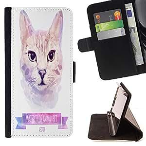 Jordan Colourful Shop - FOR Sony Xperia Z3 D6603 - never know your luck - Leather Case Absorciš®n cubierta de la caja de alto impacto