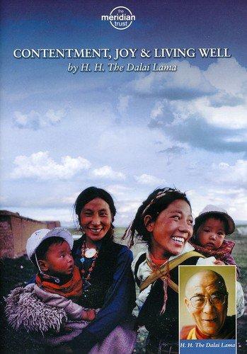 DVD : The Dalai Lama (XIV) - Contentment Joy And Living Well (DVD)