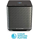 JLab Audio House Party Wireless Multi-Room Bluetooth Speaker | Connect 8 Speakers | Wireless Connectivity | Phone Control | 50 Watts | Black