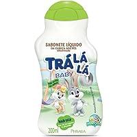 Sabonete Líquido Hidrata Personagem, Trá Lá Lá Baby, Branco e Verde, 200 ml