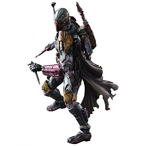 (Square Enix STAR WARS VARIANT PLAY ARTS Kai Boba Fett PVC painted action figure by Square Enix)