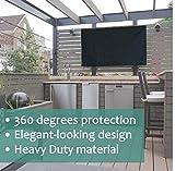 Outdoor TV Cover 60-65 inch Black - Weatherproof