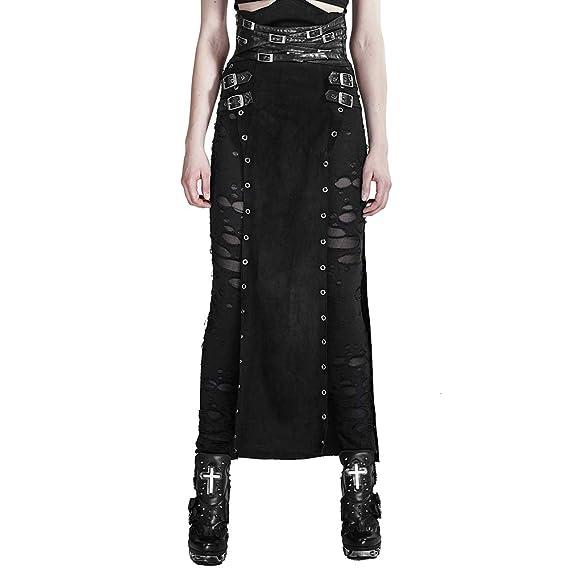 Punk Rave - Falda - Skort - para Mujer: Amazon.es: Ropa y accesorios