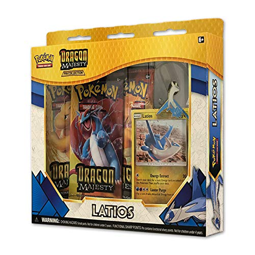 Pokemon TCG: Dragon Majesty Pin Collection Box - (Dragon Figure Box)