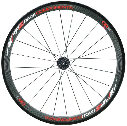 PZ Racing CR3.1W Tubular Shimano Wheel Set, Carbon Matt Black