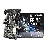 Asus Prime PRIME H270-PLUS/CSM Desktop Motherboard - Intel H270 Chipset - Socket H4 LGA-1151 - 10 x Bulk Pack