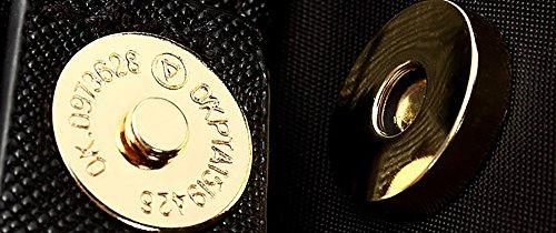 CLOTHES- Bolsos De Hombro Bolsos Versión Coreana De La Impermeable Oxford Tela De Lienzo Nylon Ocio Viajes Mochila ( Color : Negro ) Negro