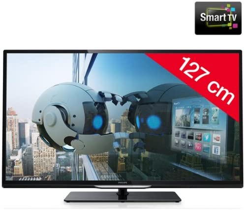 PHILIPS 50PFL4208H/12 - Televisor LED Smart TV + Soporte mural ...