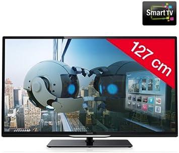 PHILIPS 50PFL4208H/12 - Televisor LED Smart TV + Soporte mural STILE S800: Amazon.es: Electrónica