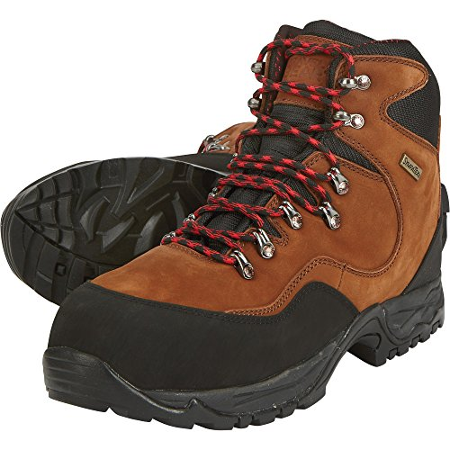 Mid Gravel Gear 13 Toe Waterproof Boots Hiker 7in Brown Men's Work Steel Size qOqfH