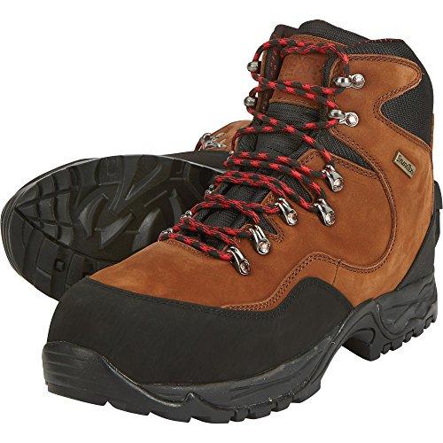 Gravel Men's 7in Work Gear Size Steel Brown 12 Boots Toe Hiker Waterproof Mid qr5qwE86x