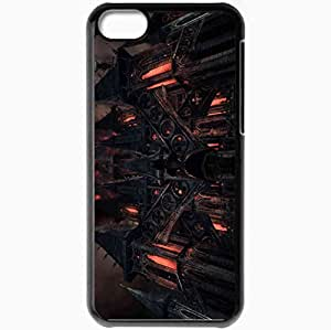 Personalized iPhone 5C Cell phone Case/Cover Skin Alice Madness Returns Black