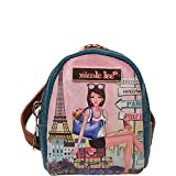 Nicole Lee Keychain Mini Backpack Charm (Chloe)