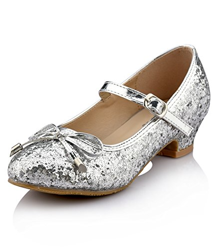 Nova Utopia Girls Low-Medium Platform Sandal Shoes NF Utopia Girl NFGF059H Silver 9 -